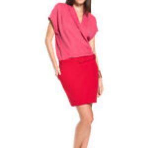 Lacoste Women's True Wrap Dress Size 44 Polo Large